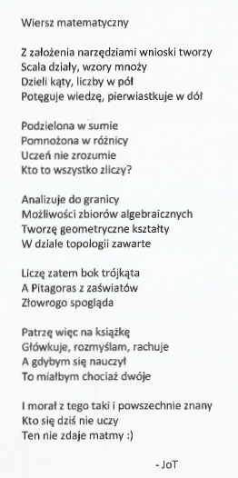 Matematyka Wokół Mnie